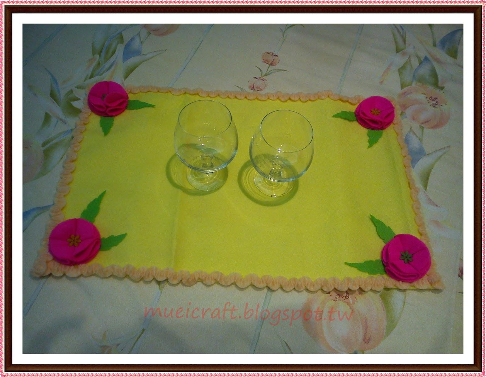 Gambar Bunga Dari Kain Flanel Untuk Taplak Meja