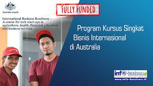 Program Kursus Singkat Bisnis Internasional di Australia