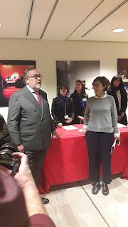 AD José Ramón Dosal Noriega e Lucia Ritrovato - Auditorium Parco della Musica - Roma