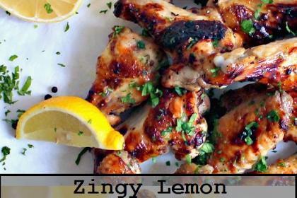 Zingy Lemon Butter Chicken Wings