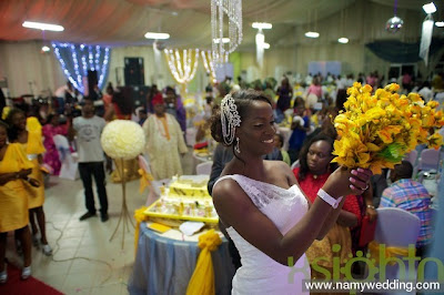 Pictures From Obiwon's Church Wedding & Reception. 36