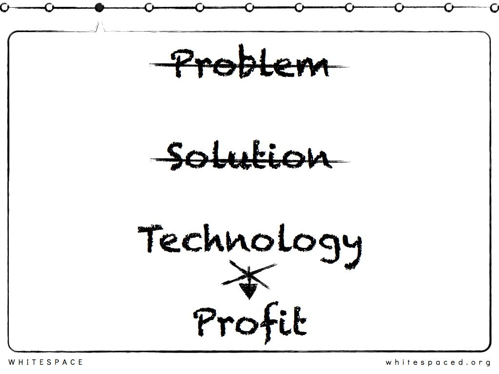 » Building Technology vs Solving Problems Whitespace