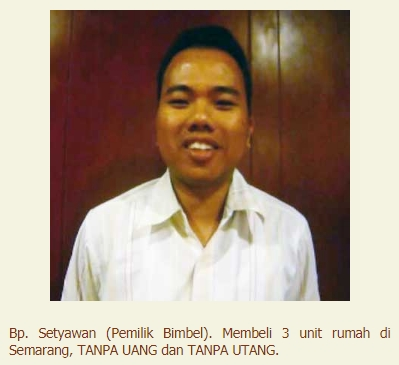 Testimoni Bp. Setyawan