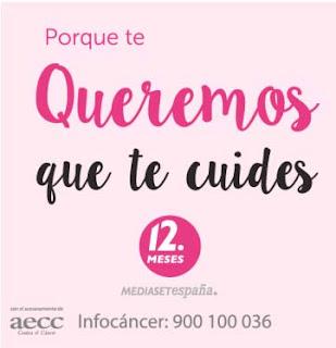 campaña contra cancer de AECC y 12 meses