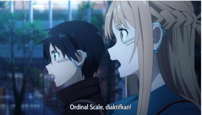 Sword Art Online : Ordinal Scale Subtitle Indonesia [HD]