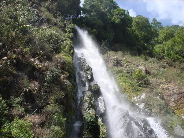 Wisata alam curug Benowo