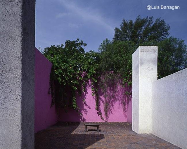 Casa estudio de Luis Barragán en México 1947
