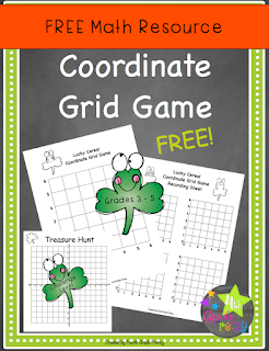 Free Coordinate Grid Activity