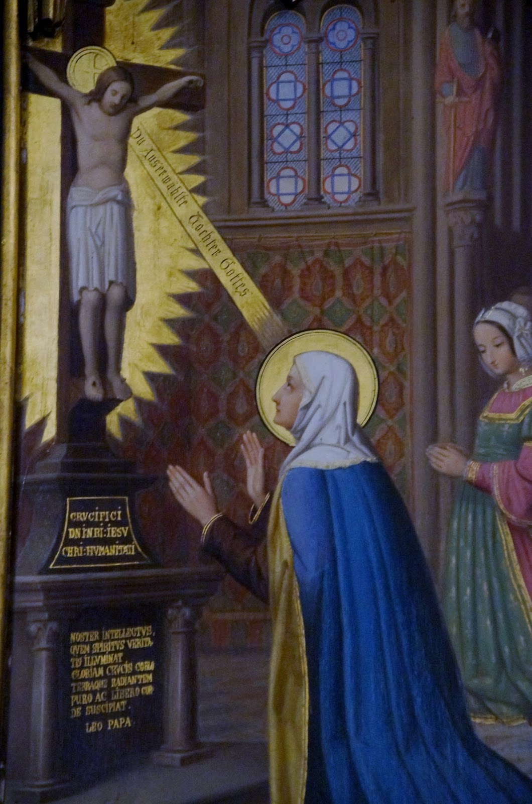Hl. Brigitta, Meister des landauer Altars um 1485, GMN
