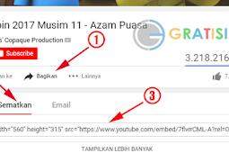 Cara Mudah Memasang dan Memasukkan Video Youtube di Blog