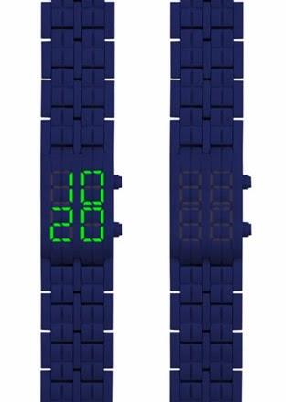 orologio  e bracciale per un perfetto look high tech