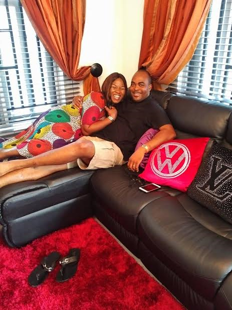 picture of actor Emeka ossai and his wife