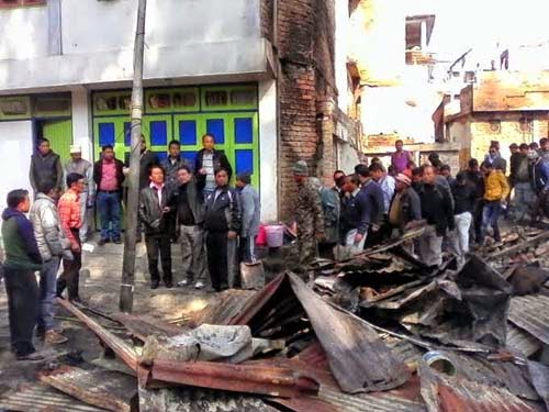 Bimal Gurung assured 1.5 crore for Pedong fire victims