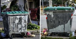 Μέσα σε αυτόν τον κάδο βρέθηκε νεκρό το μωρό στην Πετρούπολη