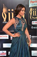 Shriya Saran in Beautiful Transparent Dark Gown IIFA Utsavam Awards 2017 057.JPG