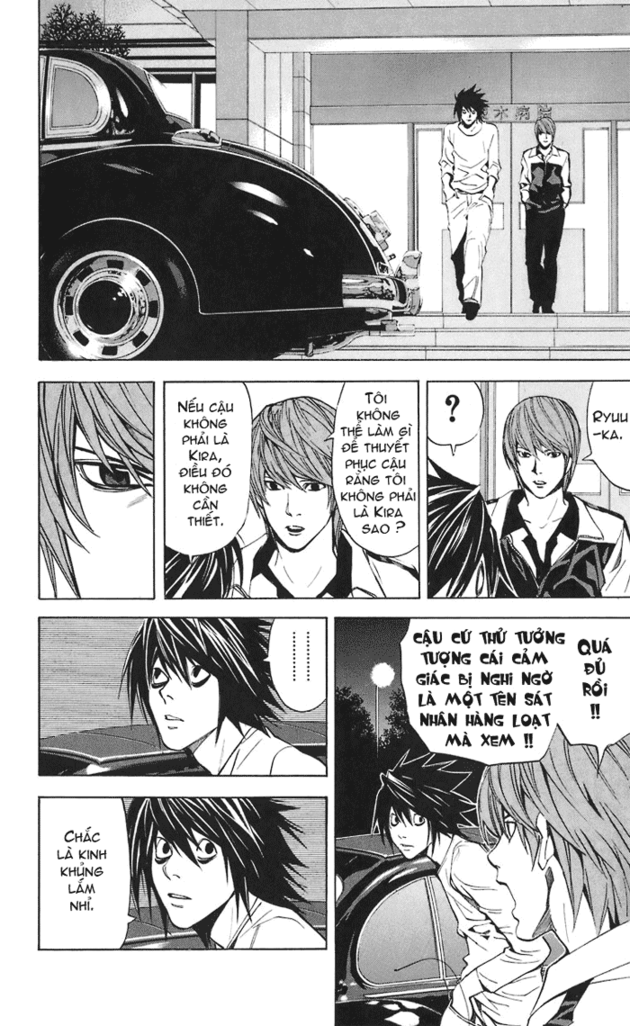 Death Note chapter 022 trang 17