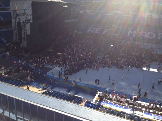 #Blogtober16-day-17-favourite-concert-you-have-attended-Santiago-Bernabeu-Stadium-madrid-Bruce-Springsteen