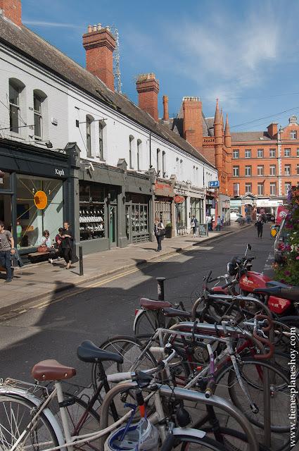 Viajes Dublin Irlanda calles