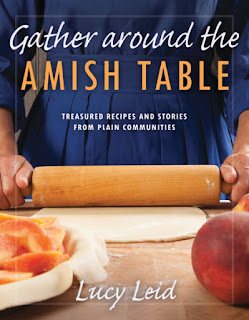 BookReview/RecipeReview Gather Around The Amish Table by Lucy Leid