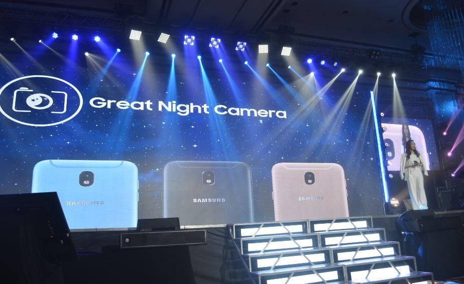 Samsung Galaxy J7 Pro Great Night Camera launch