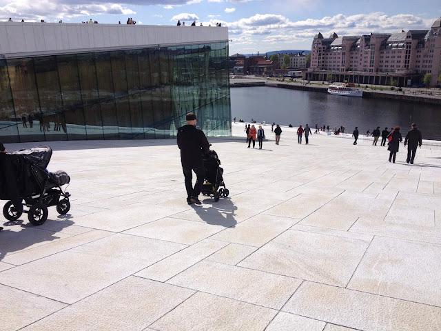 Oslo Operahouse rattailla