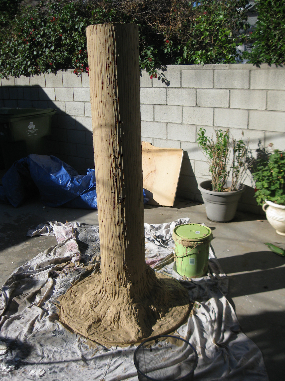 Dave Lowe Design The Blog Making A Tree Prop Part Five