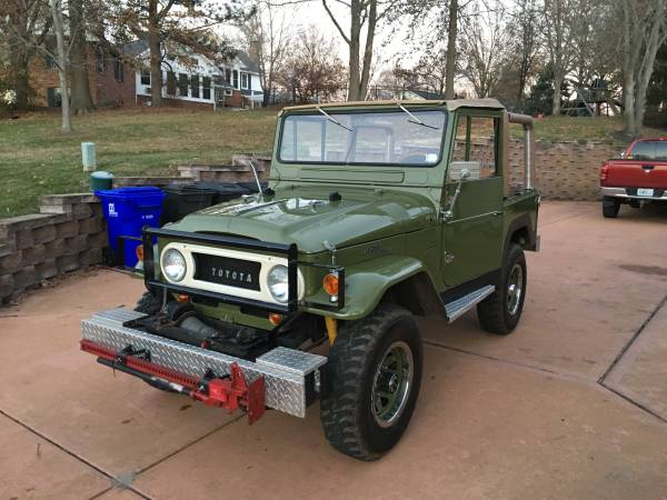 1972 Toyota Land Cruiser FJ40 Restored