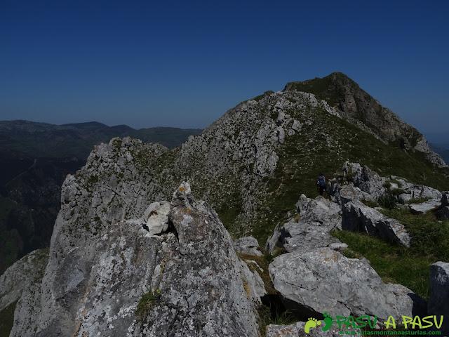 Pico Mantiegu, Sierra de Caranga