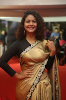 Aditi Myakal look super cute in saree at Mirchi Music Awards South 2017 ~  Exclusive Celebrities Galleries 027.JPG