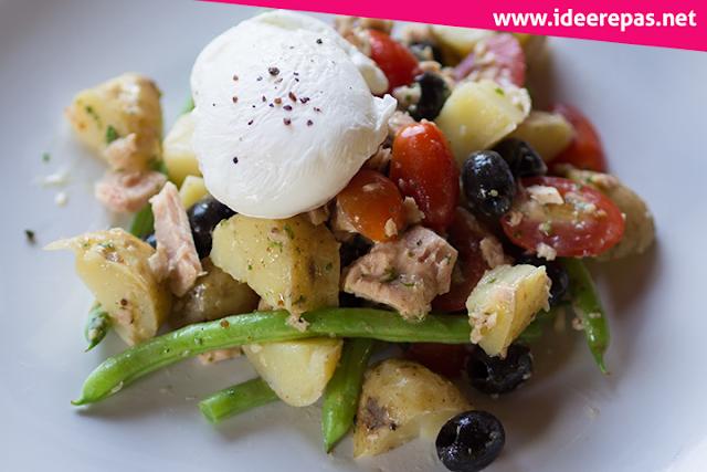 Salade niçoise facile