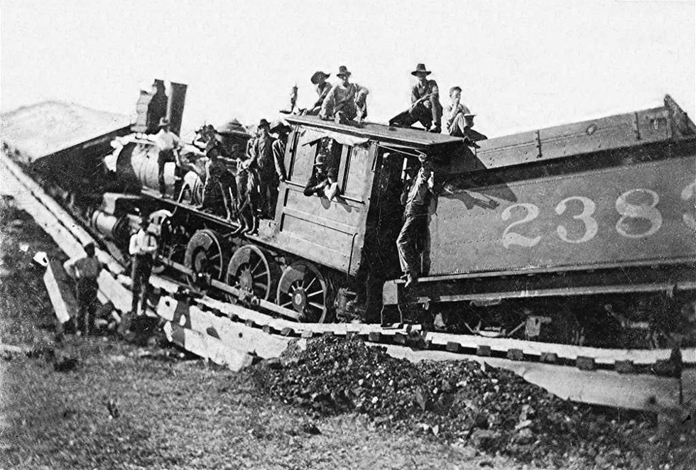 Just A Car Guy: Everybody looks at train wrecks, only some ...  |Rail Road Train Wreck
