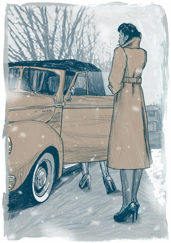 ©Jonny Ruzzo - J.D. Salinger's Nine Stories Illustrations