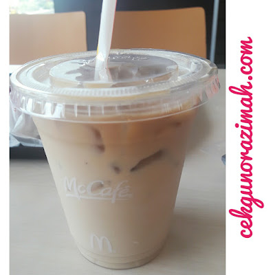 iced latte, mccafe,