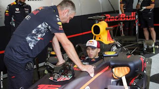 Pierre Gasly in Formula One