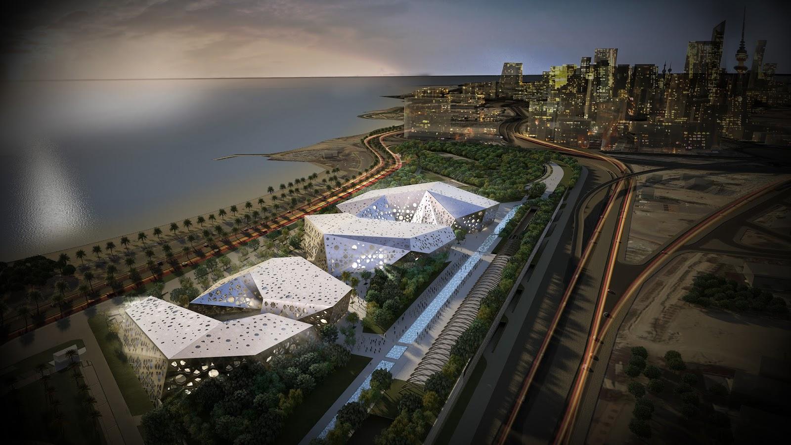 Jaber Al Ahmad Cultural Centre World Architecture