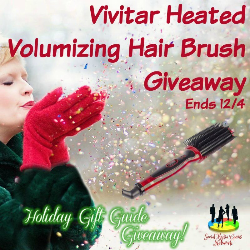 Heated Volumizing Brush Giveaway