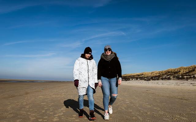 Fotoshooting am Meer auf Langeoog