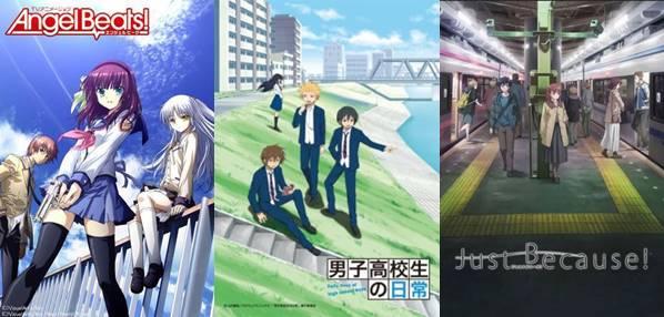rekomendasi anime school romance harem