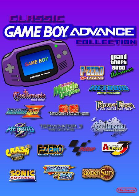 Super Pack de Roms de Game Boy Advanced em Português e Espanhol