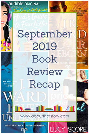 September 2019 Book Review Recap | About That Story