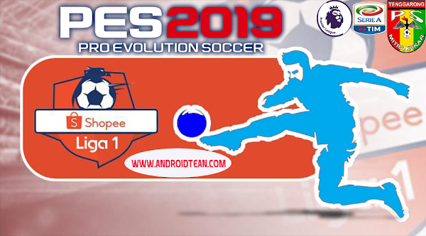 [PES 2019] Jogress V3.5 Liga Shopee, Liga Asia, Liga Eropa