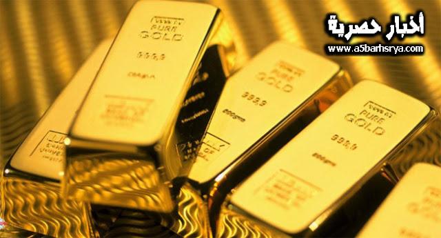سعر الذهب اليوم الأربعاء 7-2-2018  في الاسواق السوداء ومحلات الصاغة بالمصنعية
