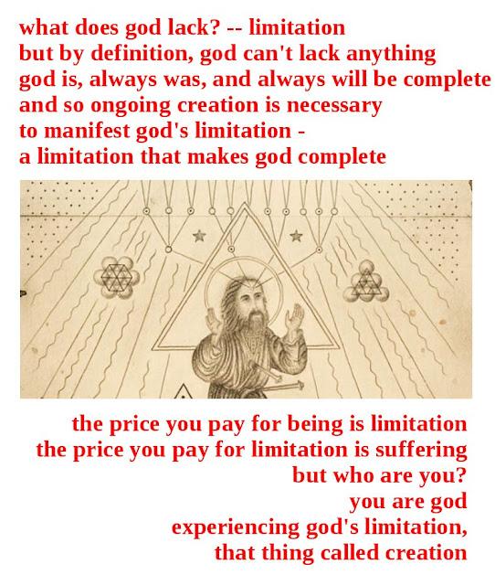 god's limitation