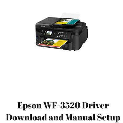Epson WF-3520 Driver Download and Manual Setup