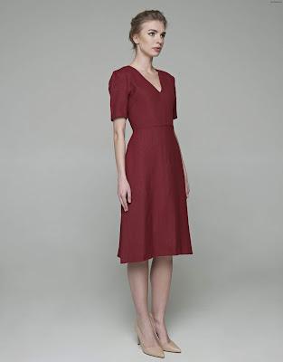 Vestidos con Escotes en V