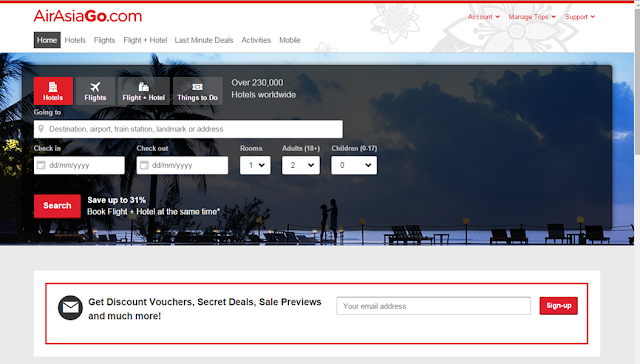 AirAsiaGo Removing Flight Booking Fees