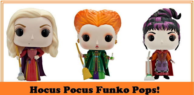 Hocus Pocus Funko Pop from Spirit Halloween Exclusive