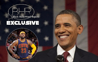 hank You President Obama !! Lebron James Thanks Former President (Barack Obama) And The Family For Being An Inspiration