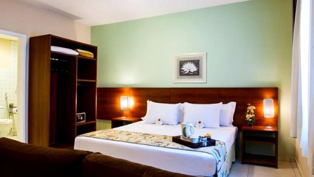 Seleção de hotéis para escapadas românticas