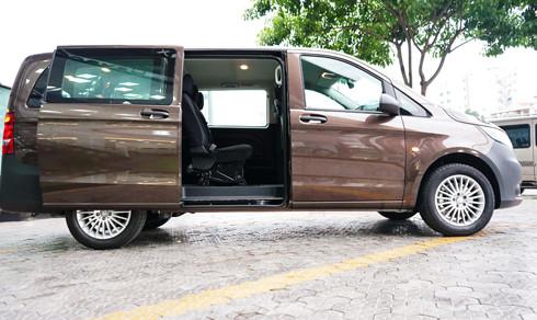Mercedes Vito Tourer 121 có phong cách thiết kế đột phá mới